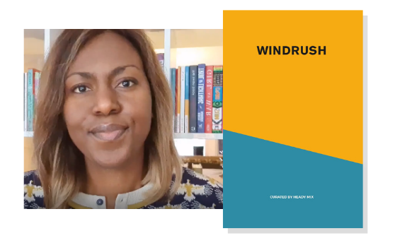 Behind the box insights and why the Windrush theme was difficult to curate
